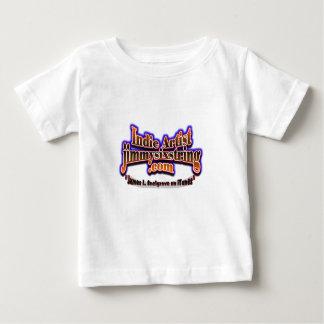 JimmYSixStrinG-Cap-Logo-BUTTERFLY-CLR BG DRK BDM17 Baby T-Shirt