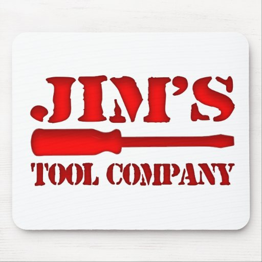 Jim's Tool Company Mouse Pads