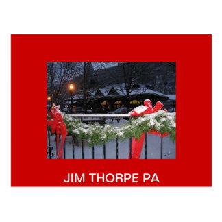 JimThorpeStationLg, PA de THORPE de JIM Postal