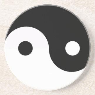 Jin Jang Black & White Coaster