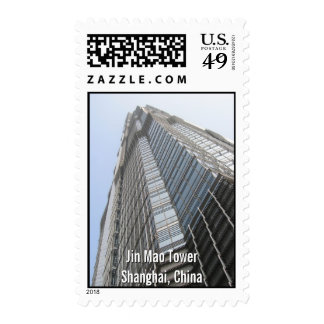 Jin Mao Tower Postage