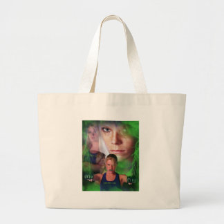 "Jina ""The Showgirl"" Cole Large Tote Bag"