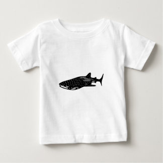 jinbeizame whale shark and rhincodon typus cutting baby T-Shirt