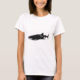 jinbeizame whale shark and rhincodon typus cutting T-Shirt