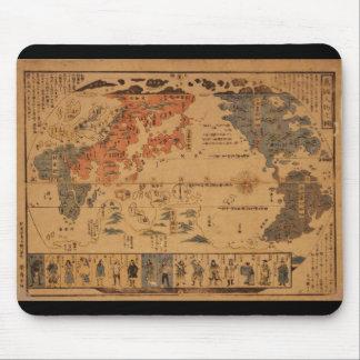 Jinbutsu 1850 de Bankoku ninguna gente del zu de Alfombrilla De Raton