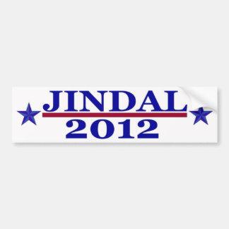 Jindal 2012 Bumper Sticker