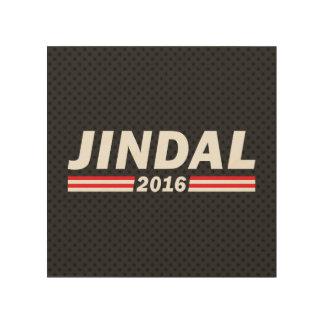 Jindal 2016 (Bobby Jindal) Wood Wall Art