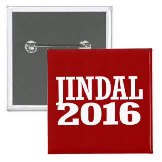 Jindal - Bobby Jindal 2016 Pinback Button