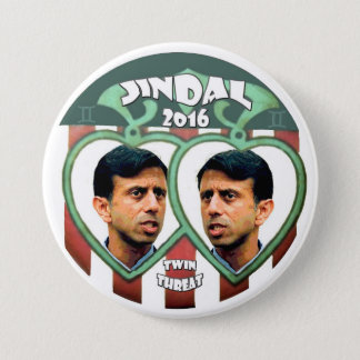 Jindal for president 2016 pinback button