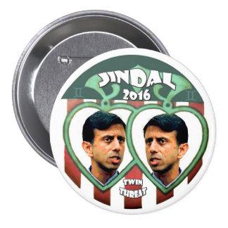Jindal for president 2016 pinback button