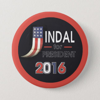 Jindal for President Pinback Button