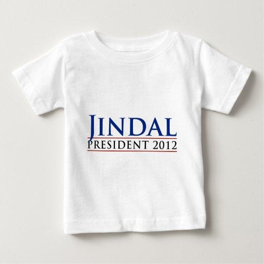 Jindal President 2012 Baby T-Shirt