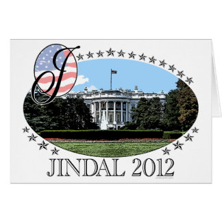 Jindal White House 2012 Card