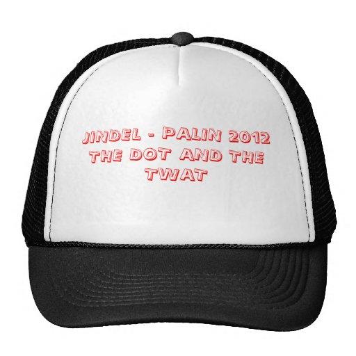 JINDEL - PUNTO de PALIN 2012THE Y El TWAT Gorras De Camionero