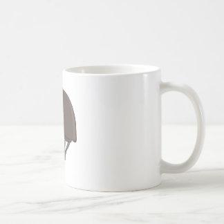 Jinete #1 taza básica blanca