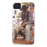 Jinete a pelo iPhone 4 protectores