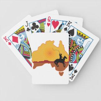 Jinete de Australia Baraja