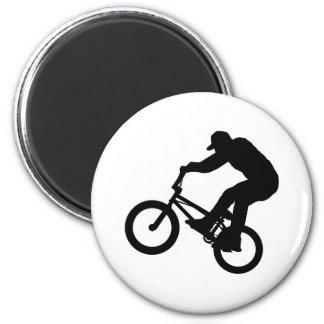 Jinete de BMX Iman Para Frigorífico