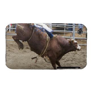 Jinete de Bull en el rodeo Case-Mate iPhone 3 Protector