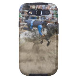 Jinete de Bull lanzado de toro Galaxy S3 Fundas