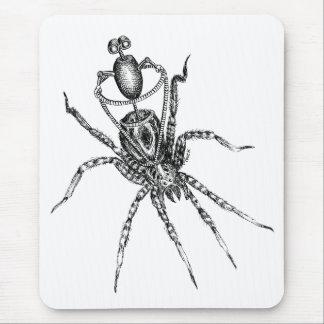 Jinete de la araña alfombrilla de ratón
