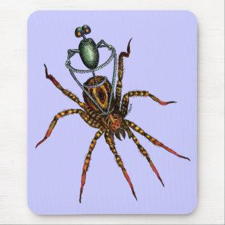 Jinete de la araña alfombrilla de raton