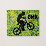 Jinete de la bici de BMX Rompecabezas