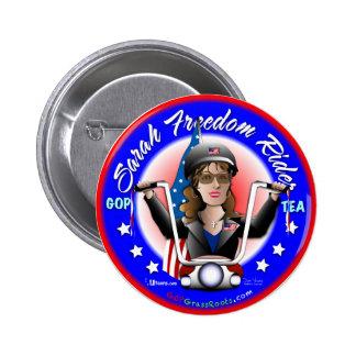 Jinete de la libertad de Sarah Pin Redondo 5 Cm