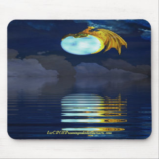 jinete de la luna - mousepad