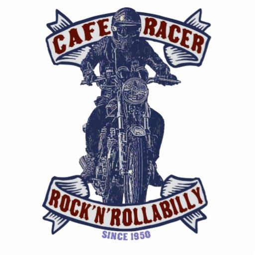 Jinete de la motocicleta fotoescultura vertical