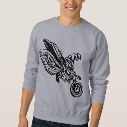 Jinete de la motocicleta pulovers sudaderas
