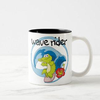 Jinete de la onda tazas de café