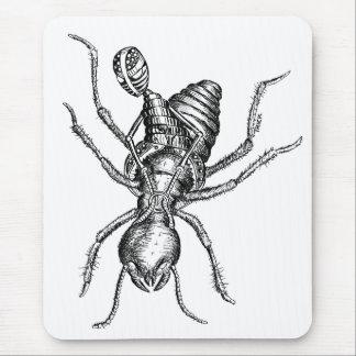 Jinete de la termita alfombrilla de ratón
