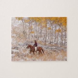 Jinete de lomo de caballo 18 puzzle