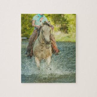 Jinete de lomo de caballo 21 puzzles