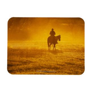 Jinete de lomo de caballo 24 imanes flexibles