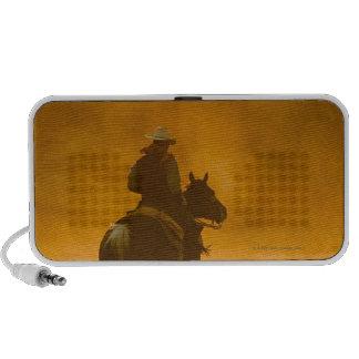 Jinete de lomo de caballo 3 mp3 altavoz