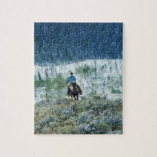 Jinete de lomo de caballo 4 puzzle