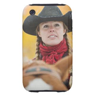 Jinete de lomo de caballo 5 tough iPhone 3 cobertura