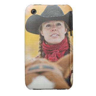 Jinete de lomo de caballo 5 iPhone 3 Case-Mate carcasas