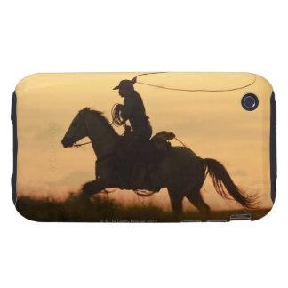 Jinete de lomo de caballo 6 iPhone 3 tough carcasas
