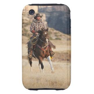 Jinete de lomo de caballo 7 iPhone 3 tough cárcasa
