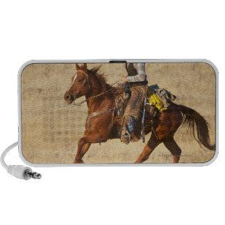 Jinete de lomo de caballo 8 altavoces de viajar