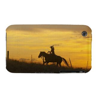 Jinete de lomo de caballo 9 iPhone 3 Case-Mate protector
