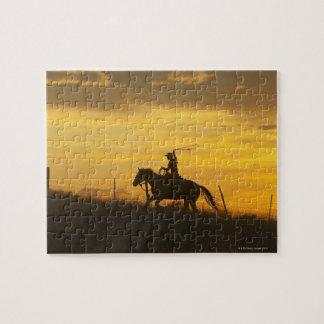 Jinete de lomo de caballo 9 puzzle