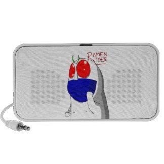 Jinete de los Ramen de Niap iPod Altavoces