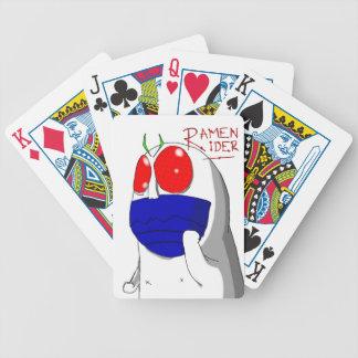 Jinete de los Ramen de Niap Baraja Cartas De Poker