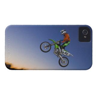 Jinete de Motorcross Case-Mate iPhone 4 Funda