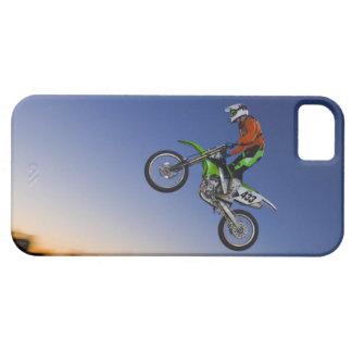 Jinete de Motorcross iPhone 5 Fundas
