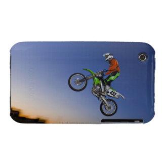 Jinete de Motorcross iPhone 3 Cárcasa